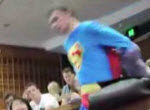 Superman Fail in der Uni
