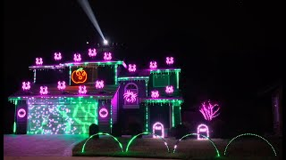 Enter Sandman (Metallica) 2020 Halloween Light Show