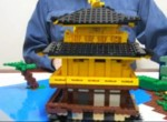Lego Pop-Up-Tempel