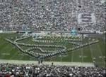 Penn State Blue Band Halbzeit-Show