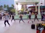 Flash Mob Heiratsantrag in Disneyland