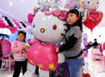 Hello Kitty Restaurant in China