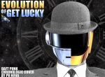 Evolution von Get Lucky