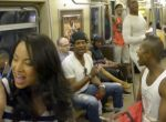 "Musicalstars singen ""Circle Of Life"" in der U-Bahn"