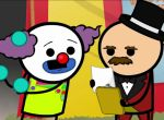 Cyanide & Happiness - Arbeitsloser Clown