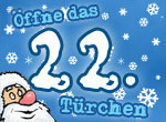 Adventskalender: 22. Türchen
