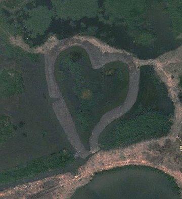 Gigantische Herzen